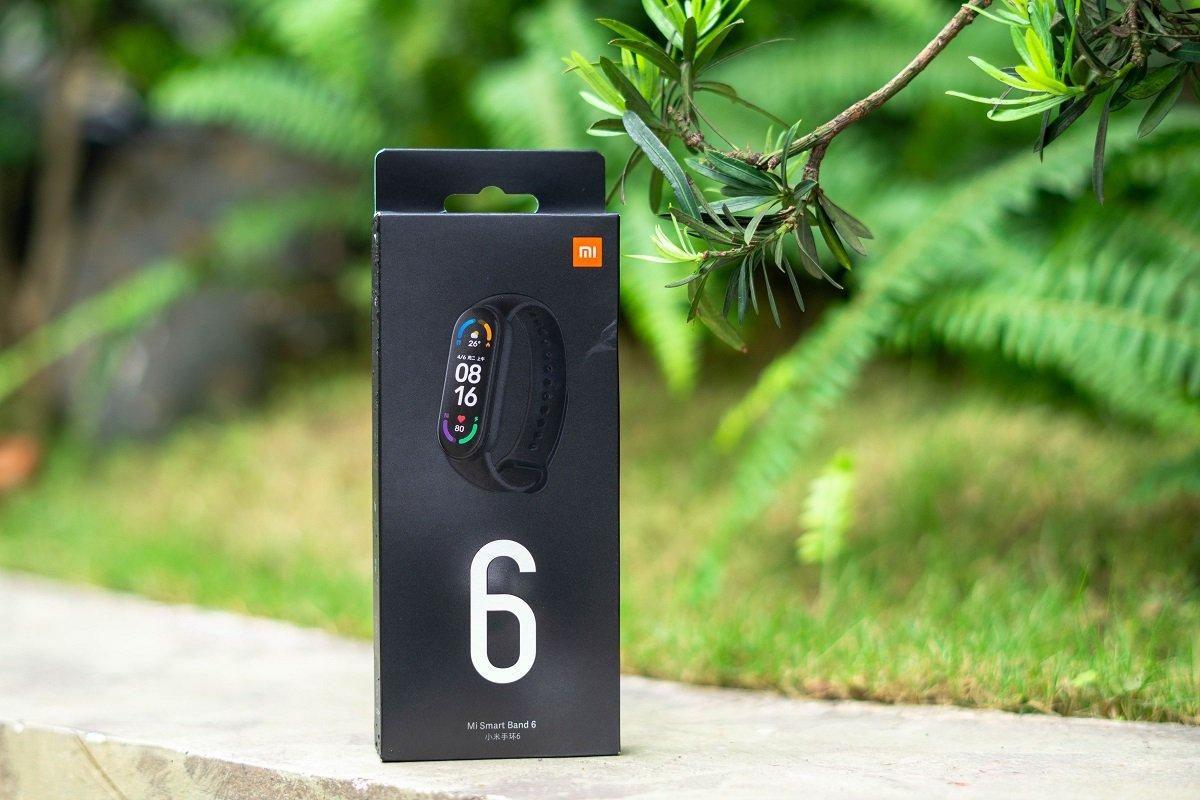 Vòng tay thông minh Miband 6 Xiaomi