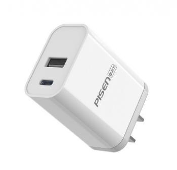 CÓC PISEN  18W 2 CỔNG  (USB +TYPEC)