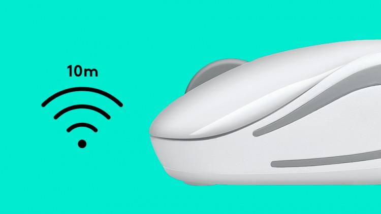 Chuột wireless không dây logitech M187 chính hãng